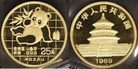 25 Yuan, 1/4 Unze 1989 China China Panda 1989  st  500,00 EUR