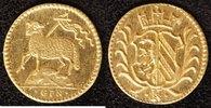 1/8 Dukatenklippe Lamm o.J.(1700) Nürnberg  vz-st  390,00 EUR