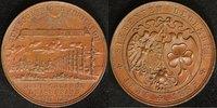 Br-Medaille 1885 Nürnberg-Fürth 50 Jahre Eisenbahn vz  95,00 EUR