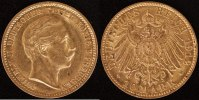 10 Mark 1912 Preußen Wilhelm II vz  250,00 EUR