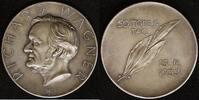 AG-Medaille 1933 Sachsen 50. Todestag von Richard Wagner vz  150,00 EUR