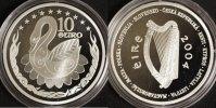 10 Euro im orig. Etui mit Zertifikat 2004 Irland EU-Erweiterung PP  35,00 EUR  +  10,00 EUR shipping