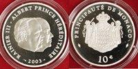 10 Euro 2003 Monaco 10 Euro Monaco 2003 PP OVP P.P.  188,00 EUR  +  10,00 EUR shipping