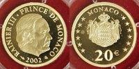 20 Euro 2002 Monaco 20 Euro Monaco 2002 PP OVP P.P.  559,00 EUR  +  10,00 EUR shipping