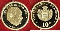 10 Euro 2005 Monaco 10 Euro Monaco 2005 PP P.P.  215,00 EUR  +  10,00 EUR shipping