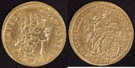 1/2 Karolin 1731 Bayern, Kurfürstentum Karl Albert (1726-45) ss-vz, sel... 900,00 EUR  +  10,00 EUR shipping