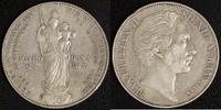 D-Gulden 1855 Bayern Max II. Joseph s-ss, Rf  20,00 EUR  +  10,00 EUR shipping