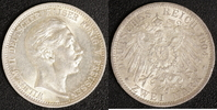 2 Mark 1904 Preußen Wilhelm II. (1888-1918) vz  40,00 EUR  +  10,00 EUR shipping