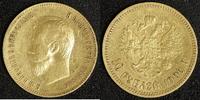 10 Rubel 1900 Russland Nikolaus II.   400,00 EUR  +  10,00 EUR shipping