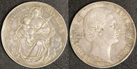 Madonnen-Taler 1866 Bayern Ludwig II. Broschierspur  25,00 EUR  +  10,00 EUR shipping