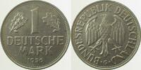 1956 G  1 DM 1956G bfr/stgl Erstabschlag (EA)! ! bfr  /  stgl  145,50 EUR