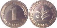 1948 D  1 Pfennig 1948D BDL PP. . .250 Exemplare   185,00 EUR