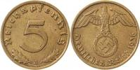 5 Pfennig 1936 A  1936A ss/vz ss  /  vz  105,00 EUR  +  8,50 EUR shipping