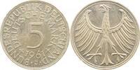 1961 J  5 DM 1961J bfr/stgl bfr  /  stgl  215,00 EUR  +  10,00 EUR shipping