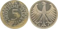 5 DM 1951 G  1951G PP 100 Exemplare PP  1025,00 EUR  +  8,00 EUR shipping
