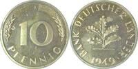 1949 J  10 Pfennig 1949J BDL PP. . .250 Exemplare   135,00 EUR  +  10,00 EUR shipping
