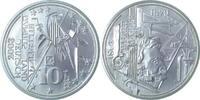 10 Euro Semper, AG Probe Victor Huster Nr. 34 v. 181   185,00 EUR
