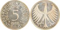 5 DM 1958 D  1958D PP min. berührt !!! PP  400,00 EUR  +  8,00 EUR shipping