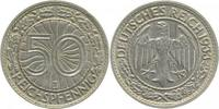 1933 J  50 Pfennig 1933J ss/vz min. Rf. ss  /  vz  128,00 EUR