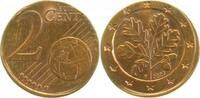 2007 F  2 Cent 2007F auf 1 Cent extrem selten   185,00 EUR