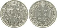 1931 J  50 Pfennig 1931J ss/vz kl. Rf. ss  /  vz  130,00 EUR