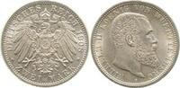 1908 F  2 Mark Wilhelm 1908F Riffelr.nur 50% Archiv F. !!!!   225,00 EUR  +  10,00 EUR shipping