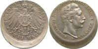 1899 A  2 Mark Wilh. II 1899A D15, sehr selten !! Archiv Franquinet   475,00 EUR  +  10,00 EUR shipping