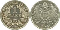 1901 D  1 Mark 1901D Wertseite PP-, Rückseite f.stgl !! min.Rf. Unikat... 185,00 EUR