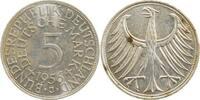 1956 J  5 DM 1956J f. bfr bfr  125,00 EUR