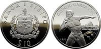 10 Tala 1991. WEST-SAMOA  Polierte Platte.  18,00 EUR  +  6,70 EUR shipping