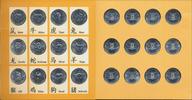 12 x 10 Shillings 2000. SOMALIA Republik. Stempelglanz.  40,00 EUR  +  6,70 EUR shipping