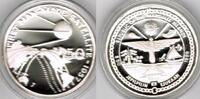 "Marshallinseln 50 Dollars Marshall Islands, silver coin ""first man-made satellite 1957"", proof"