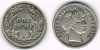 10 Cents (Dime) 1915 USA USA, silver barber dime 1915, like scan sehr s... 10,00 EUR  +  7,00 EUR shipping