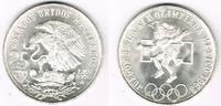 25 Pesos 1968 Mexiko Mexico 1968, 25 Pesos, Olympic Games 1968, like sc... 11,00 EUR  +  7,00 EUR shipping