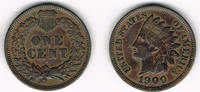 USA 1 Cent 1900 sehr schön USA, 1 Cent 1900, Indian Head, like scan 9,00 EUR  +  7,00 EUR shipping