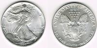 USA 1 Dollar 1990 Stempelglanz USA, american eagle, 1 ounce fine silver,... 24,00 EUR  +  9,00 EUR shipping