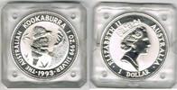 Australien 1 Dollar 1993 Stempelglanz Australien 1993, 1 Unze Silber, Ko... 28,00 EUR  +  9,00 EUR shipping