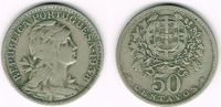 50 Centavos 1938 Portugal Portugal, escudo coin 1938 Liberty head, like... 39,00 EUR  +  9,00 EUR shipping