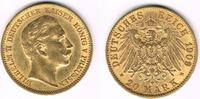 20 Mark 1909 A Deutsches Kaiserreich - Preußen Preußen, 20 Mark 1909 A,... 285,00 EUR  +  11,00 EUR shipping