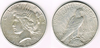 Dollar 1928 USA USA, peace dollar 1928, condition like scan! sehr schön  24,00 EUR  +  9,00 EUR shipping