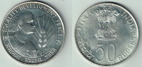 50 Rupien 1975 Indien Silver coin FAO, India 1975, 50 Rupees vorzüglich... 28,00 EUR  +  9,00 EUR shipping