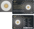 10 Francs 2015 Ruanda Rwanda gold coin 'Springbok' 1/200 ounce in card ... 12,90 EUR  +  7,00 EUR shipping
