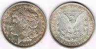 Dollar 1921 USA usa, morgan dollar 1921, like scan! sehr schön  20,00 EUR  +  7,00 EUR shipping