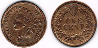1 Cent 1881 USA USA, 1 Cent 1881, Indian Head, like scan sehr schön  7,50 EUR  +  7,00 EUR shipping
