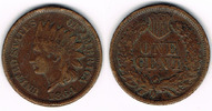 1 Cent 1864 USA USA, 1 Cent 1864, Indian Head, like scan sehr schön, Kl... 17,00 EUR  +  7,00 EUR shipping