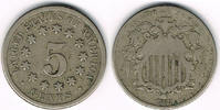 5 Cents 1868 USA USA, 5 Cents 1868, like scan schön  9,00 EUR  +  7,00 EUR shipping