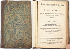 Preussen  Johann Christian Thielisch / Die christliche Lehre für Confirmanden