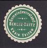 O.J. Berlin-Britz / Kreis Teltow Siegelmarke / Verschlussmarke / Gemei... 5,00 EUR incl. VAT., +  8,00 EUR shipping