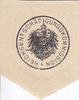 O.J. Preussen Aufdruckmarke / Siegelmarke / Reichsentschädigungskommis... 18,00 EUR incl. VAT., +  8,00 EUR shipping
