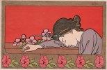 1899 Belgien Ansichtskarte/Postkarte/Jugendstil/Art Nouveau/Henri Meun... 110,00 EUR